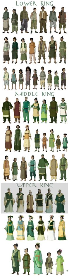Avatar - Earth Kingdom Oufits #clothes