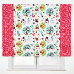 Estor Infantil Duo HadasDIVERESTOR DUO LA CUIDAD DE LAS HADAS Medidas (an x al): 140x190 cm. Telas: Pixie Town in White y Butterflies and Flowers Mecanismo: Cadena