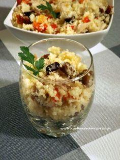 Bulgur lunch do pracy, czyli prosta i szybka w przygotowaniu sałatka do pracy, która pozwoli nam przetrwać :)