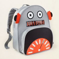 Cute robot mini backpack from the Children's Place! Too bad it doesn't seem to be in stock anymore ;(