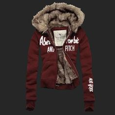 65171d87f4b4 Abercrombie  amp  Fitch Fur Hoodie Abercrombie And Fitch Jackets