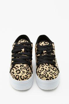 Animal Instinct Platform Sneaker