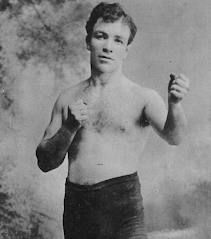 BOXING: Mike Glover (b. Cavanaugh) was a tough customer. While he was not the slickest of boxers, he was scrappy, durable and hard to beat; He was stopped only once and that came early in his career. He was two time welterweight champion in 1915. He became ill and died in a hospital in 1916.