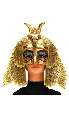 Egyptian Goddess Cleopatra Half Mask