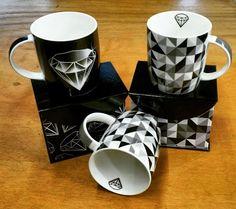 Caneca Diamante com Caixa Cartonada e Caneca Textura Diamante com Caixa Cartonada  www.gorilaclube.com.brCaneca