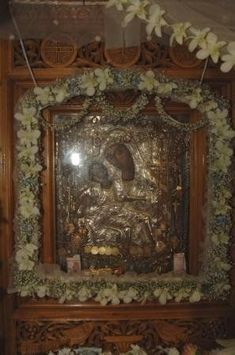 Jesus Christ, Mirror, Flowers, Home Decor, Decoration Home, Room Decor, Florals, Mirrors, Interior Design