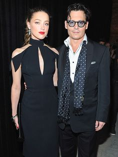 Star Tracks: Wednesday, May 7, 2014 | ONE COOL COUPLE | A night after attending the glam Met Gala, Johnny Depp and fiancée Amber Heard are at it again, stepping out Tuesday night for Spike TV's Don Rickles: One Night Only event in N.Y.C.
