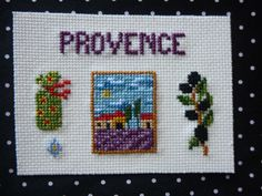 Provence Roman, Provence, Punto De Cruz, Dots, Pretty Cards, Crosses, Seed Stitch, Aix En Provence
