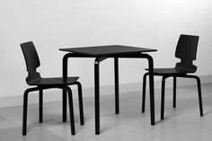 Lento collection designed by Finnish designer Harri Koskinen for Artek. | #Furniture #Chairs #Table |
