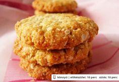 Anzac keksz - zabpelyhes keksz (eperrel is finom)
