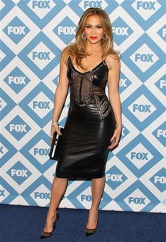 Jennifer Lopez arrives at the 2014 TCA winter press tour Fox All-Star Party at The Langham Huntington Hotel and Spa in Pasadena, Calif., on Jan. 13, 2014.