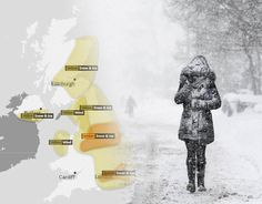 SNOW WARNINGS have been issued by the Met Office across the UK today. See the latest weather forecast maps and charts for the UK.