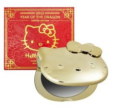 Sephora: Hello Kitty 2012 Year Of The Dragon Compact Mirror: Mirrors Year Of The Dragon, Hello Kitty Items, Kawaii, Happy Chinese New Year, Compact Mirror, Sanrio, Girly Things, Sephora, Make It Yourself