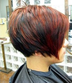30 Short Hair Color Styles | 2013 Short Haircut for Women..... Some of these really make me wish I knew how to style hair