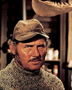 robert shaw - when I saw Jaws when it first came out. I was a weird kid :)