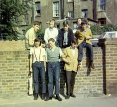 Kentish Town, 1968 Waffle Knit Cardigan in Mustard. Tim M Mode Skinhead, Skinhead Fashion, Youth Subcultures, Skin Head, Old Photography, Rude Boy, Youth Culture, Retro Color, Black N White