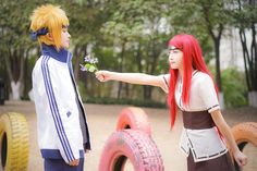 Minato x Kushina - Naruto - Cosplay