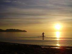 Free Image on Pixabay - Woman, Swim, Water, Person, Sun Free Pictures, Free Photos, Free Stock Photos, Free Images, Sun Salutation Sequence, Surya Namaskara, Sunrise, Swimming, Earth