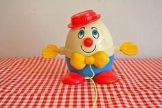 vintage+70s+pull+toy++HUMPTY+DUMPTY+fisher+price+by+LittleMsTips,+$9.00