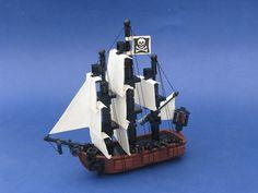 The Buccaneer's Dread, sailing the tiny seven seas