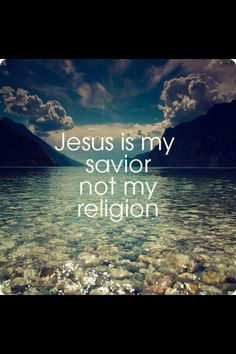 He died for me, so I live for him!