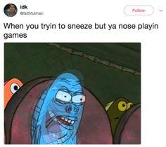 "If Art Imitates Life, ""Spongebob Squarepants"" Is A Modern-Day Da Vinci Funny Shit, Stupid Funny Memes, Funny Relatable Memes, The Funny, Funny Stuff, Funny Things, Random Stuff, Memes Humor, Humor Humour"