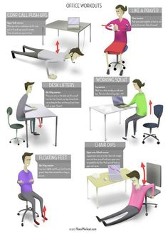 For all the busy bees in front of the desk here is the #office workout. Happy 2013 xoxox