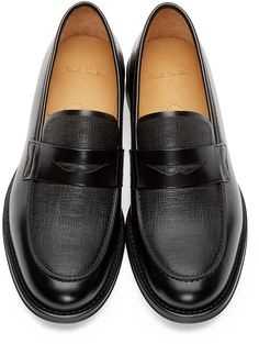 Not much of a loafers guy, but if I had to wear a pair, it would be these. PS by Paul Smith - Black Leather Gifford Loafers. $475