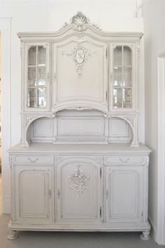 Antique French Cabinet from Full Bloom Cottage. // ♡ I'M IN LOVE......!!! ♥A