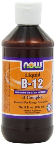 NOW Foods B-12,Liquid B-Complex, 8 ounce * You can find more details by visiting the image link.