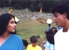 Rahul & Anjali in Kuch Kuch Hota Hai Shahrukh Khan And Kajol, Shah Rukh Khan Movies, Kuch Kuch Hota Hai, Bollywood Couples, Bollywood Celebrities, Kajol Saree, King Of My Heart, Vintage Bollywood, Anatomy And Physiology