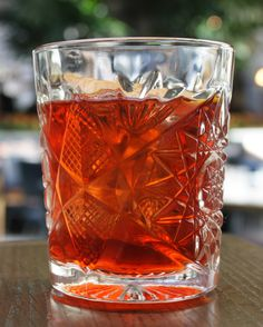Coconut Negroni Recipe that plays up the Fat-Washed trend that will be big in 2017.