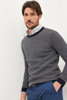 Cotton sweater | Sweaters and cardigans | Cortefiel Man & Woman