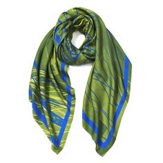 Linea Germaniaisa signature line of scarves created by Mengly…