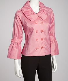 Take a look at this Bubblegum Jacket by Samuel Dong on #zulily today!