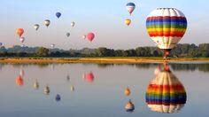 Vuelos en globo, aventura en el cielo http://www.enviajes.com/recomendaciones/como-es-viajar-en-globo.html
