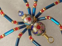 The Latest Creation from Treasures by Tiziana Cloisonné Beaded ...