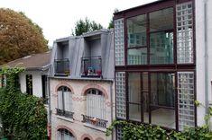 aude borromee + weygand badani architectes: vertical house