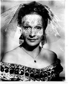 Arletty as Garance in Les Enfants du Paradis, 1945.