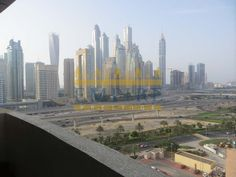 Marina Towers and Sheikh Zayed View