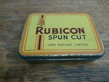 Rubicon Spun Cut tobacco tin