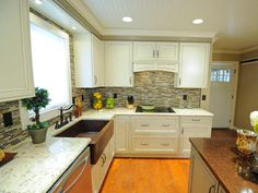 100+ Cheap Kitchen Counter Makeover - Kitchen Decorating Ideas On A Budget Check more at http://cacophonouscreations.com/cheap-kitchen-counter-makeover/