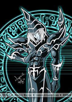 Dark Magician - by ~Riomak on deviantART