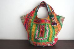 Patchwork Hobo <3 <3 Cotton Bag, Handmade Bags, Bohemian Style, Decorating Ideas, Eyes, Sewing, Live, My Style, Clothes