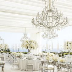All white reception | Event Design by Sunny Ravanbach, White Lilac, Inc. #whitelilacinc