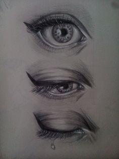 #Art #Eyes #Pencil #Арт #Глаза #Карандаш