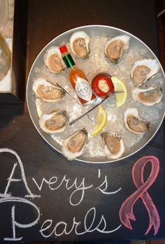 Farm-to-table oysters at Ryleigh's. We love Ryleigh's oysters! Don't forget about their terrific oyster happy hours. Fantastic deals. At 36 East Cross Street in Baltimore's Federal Hill, MD.