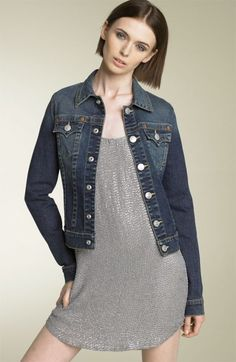 Levi&39s Ladies Jean Jacket   Jacket: 80s -Levis- Womens dark blue