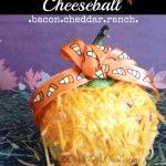Trick or Treat cheese ball