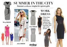 #SummerDresses #WATC #summerlook #powerdressing #whattoweartowork #summerstyle